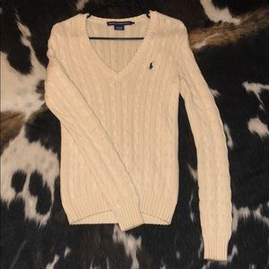 Small Ralph Lauren Sport v-neck sweater